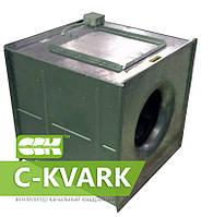 Вентилятор канальный радиальный квадратный с трехфазным электродвигателем C-KVARK-(V)-80-80-4-380