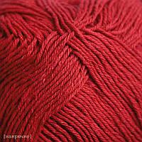 Пряжа для машинного вязания Vivchari Cottonel 550 м, красный