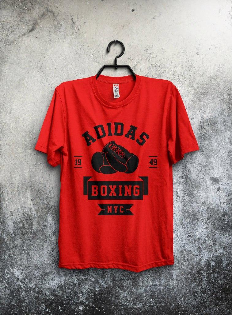 Футболка Adidas Boxing (Адидас Боксинг)