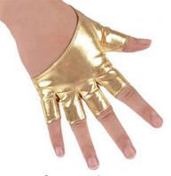 Перчатки под кожу танцевальные DANCE, цвета BLACK/SILVER/GOLD, размеры S/M/L.
