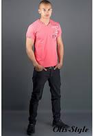 Мужская футболка Грет красный