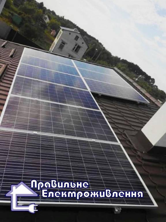 Гібридна сонячна електростанція 5 кВт Рясне-Руське потужністю. 2