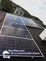 Гібридна сонячна електростанція 5 кВт Рясне-Руське. 2