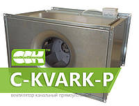Вентилятор канальный с однофазным электродвигателем C-KVARK-P-50-30-25-2-220