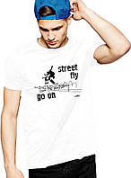 Street Fly - Футболка Мужская с Дизайном