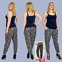 Женские лёгкие штаны Zoloto A701-13. Размер 50-54.