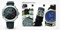 Часы мужские механические Patek Philippe sky moon tourbilon black