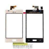 Сенсорний екран LG E610 Optimus L5, E612 Optimus L5 білий