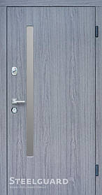 Входная дверь ТМ Стилгард AV-1 Grey Glass