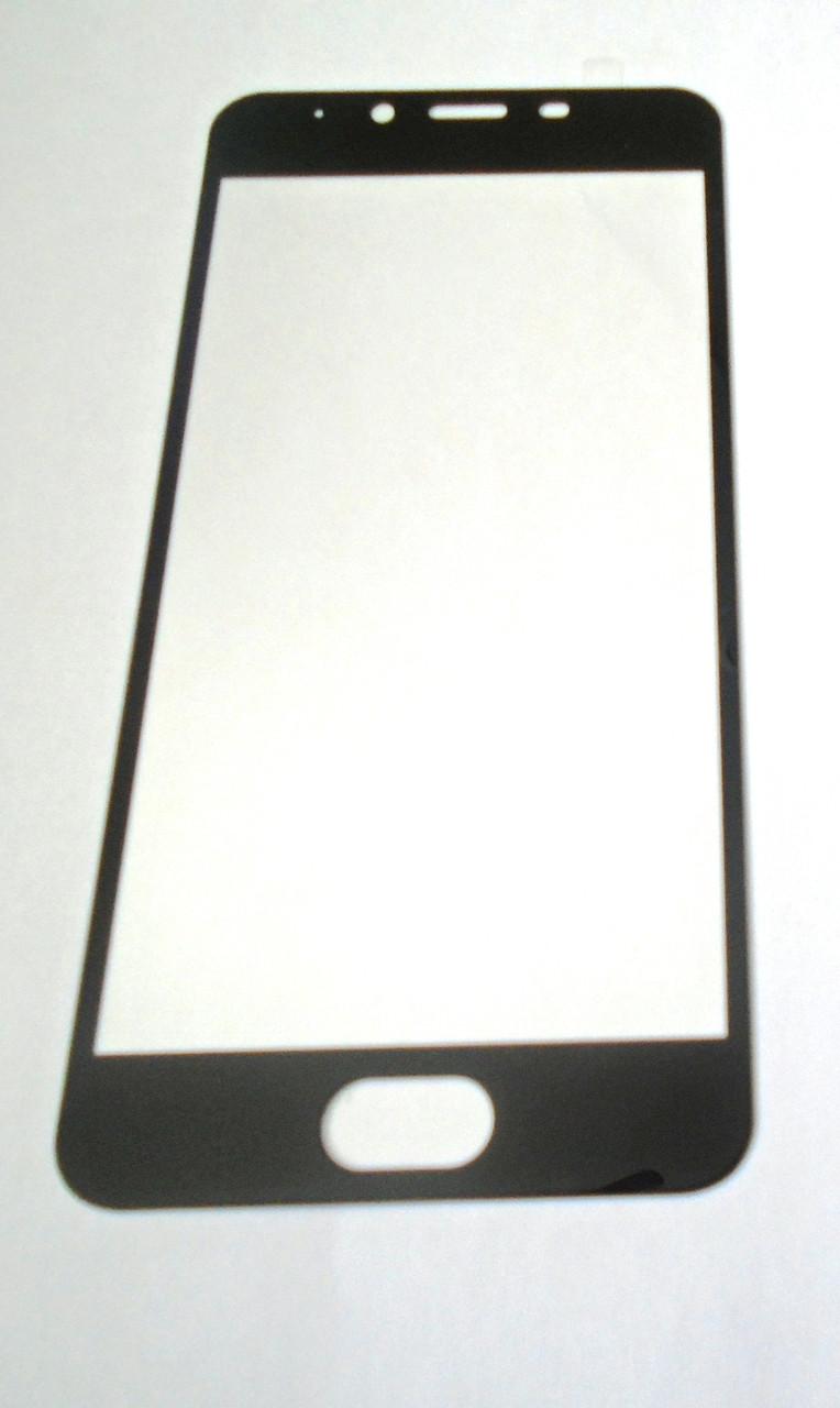 Защитное стекло Meizu U10 Black 3D full Screen
