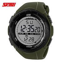 Часы мужские спортивные Skmei green