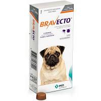 БРАВЕКТО (BRAVECTO) S - таблетка от блох и клещей для собак 4,5-10 кг