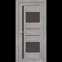 Дверь межкомнатная VENECIA DELUXE эш-вайт сатин бронза