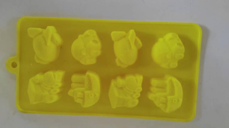 Силиконовая форма для льда и конфет., фото 2