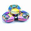 Спиннер сталь Fidget spinner Premium Треугольник хамелеон
