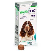 БРАВЕКТО (BRAVECTO)  M - таблетка от блох и клещей для собак 10-20 кг