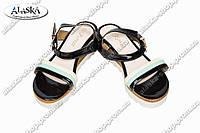 Женские сандалии QT131 черные
