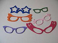Набор для вечеринок и фото сессий из фетра, очки