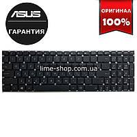 Клавиатура для ноутбука ASUS X501, X550, X552, X750 rus, black, без фрейма, без креплений