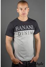 Мужская футболка Бани черный