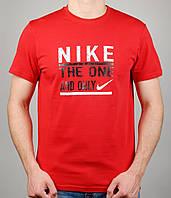 Мужская футболка Nike AIR 4126 Красная