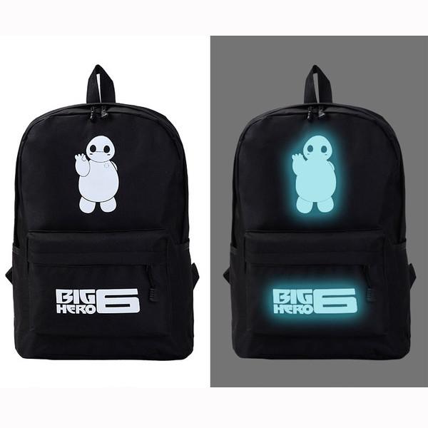 Рюкзак молодежный светящийся BIG HERO