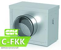 Фильтр канальный для круглых каналов C-FKK