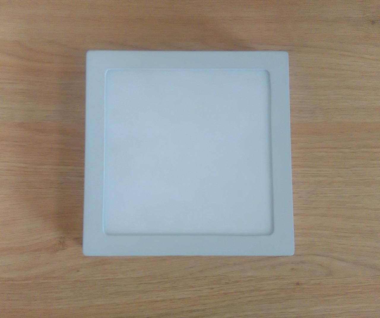 Світильник накладний Світильник LED 12W 6500K/4000К/3000К 170х170х32мм квадратний алюмінієвий корпус