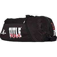 Спортивная сумка-рюкзак TITLE MMA World Champion Sport Bag/Back Pack