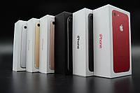 Заводские коробки для iPhone 7 & 7Plus (product) red. Печать имей.