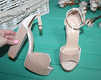 Босоножки на платформе и каблуке 35, фото 1