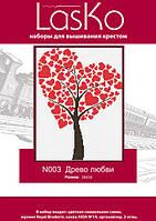 "Набор для вышивания ""Древо любви"" LasKo N003"