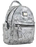 Сумка-рюкзак, темно-серая, 17*20*8см, фото 1