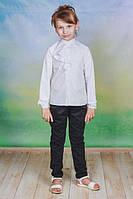 Детская школьная  белая блузка на девочку рост - 128, 134, 140, 146 ,152