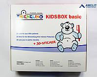 Набор для детского приема, синий/розовый (Thienel Dental), 1упак.