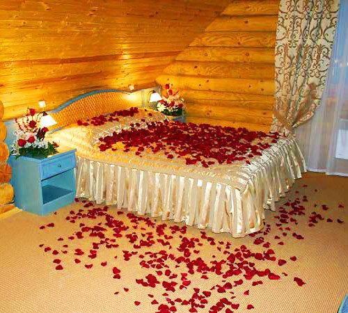 Лепестки роз  разные цвета 200 гр