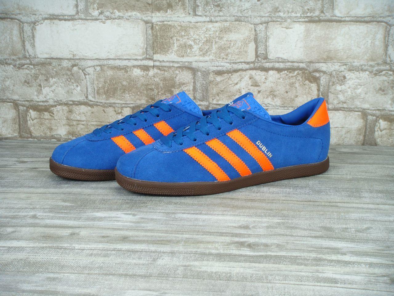 Мужские кроссовки Adidas Dublin синие, фото 1