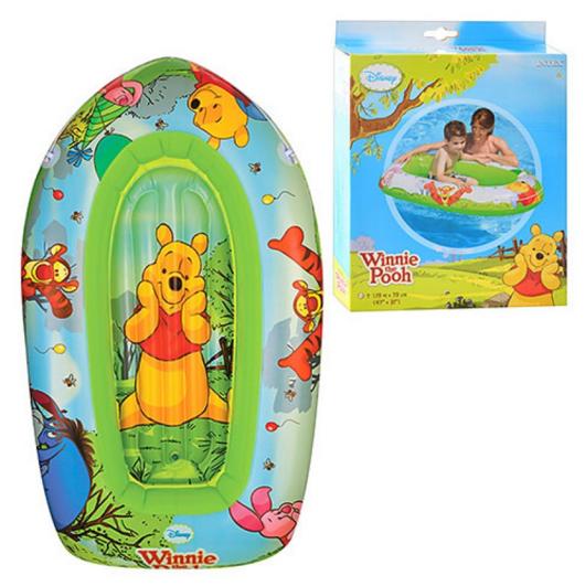 Плотик детский для плавания Винни. Надувной плотик для плавания.Детский плотик.