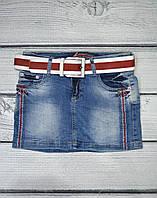 Короткая джинсовая юбка 26 размер