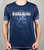 Мужская футболка NAPAPIJRI 4133 Тёмно-синяя