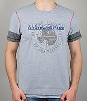 Мужская футболка NAPAPIJRI 4134 Серая