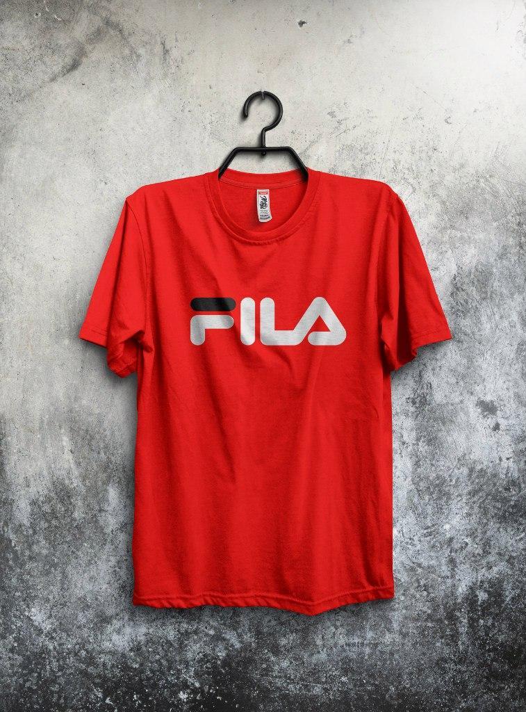 Футболка Fila (Фила), большой логотип