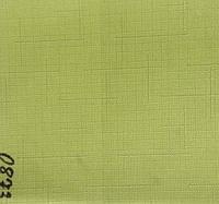 Рулонная штора Лён (430х1600). Лайм 0873