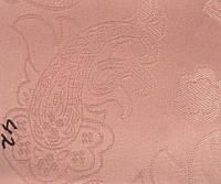 Рулонная штора Барокко (430х1600). 42. Розовый.