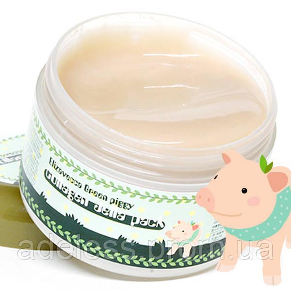 Коллагеновая маска Magic of Elizavecca Green Piggy Collagen Jella Pack
