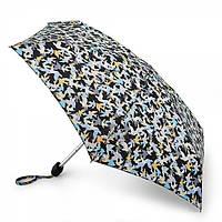 Женский складной зонт Fulton Tiny-2 - L501 - Camo Birds (Птицы)