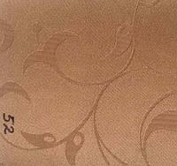 Рулонная штора Лилия (430х1600). 52. Коричневый.