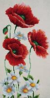 Схема для вышивки бисером Т-0792 Полевые цветы
