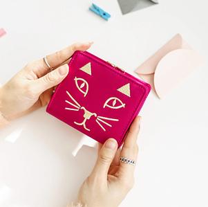 Женский кошелек Cat