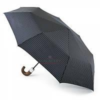 Мужской складной зонт Fulton Chelsea-2 - G818 - City Stripe Navy (Синий)